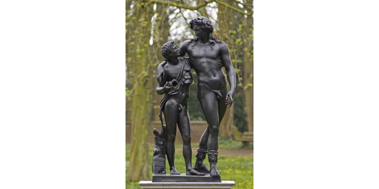 Bronzen beelden Paviljoen Welgelegen 07
